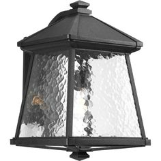 Progress Lighting P5999-31 Mac 1 Light 17 inch Black Outdoor Wall Lantern