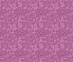 Rapunzel Skirt Floral fabric by aimee on Spoonflower - custom fabric