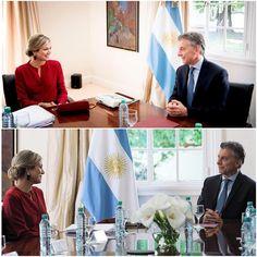 En Argentina con el presidente Mauricio Macri