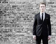M.O.D. suits - new Danish suit brand