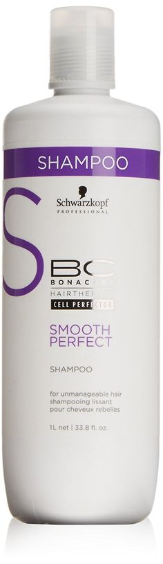 Schwarzkopf - BC SMOOTH PERFECT shampoo 1000 ml ** Check this awesome product by going to the link at the image.