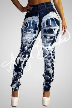 Construction Jeans | Shop Boutique on Angel Brinks