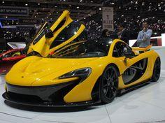 McLaren P1 hybrid