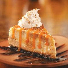 Deluxe Pumpkin Cheesecake Recipe from Taste of Home -- shared by Sharon Skildum of Maple Grove, Minnesota