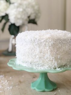 I tried a new recipe called The Best Coconut Cake Ever. It was fun, not difficult and a great dessert. I love that this is the perfect cake for Spring and Summer.