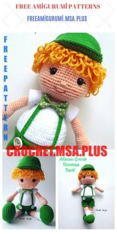 Amigurumi doll naughty boy free crochet pattern, we continue to share beautiful free amigurumi patterns from each other. Crochet Dolls Free Patterns, Amigurumi Patterns, Crochet Toys, Free Crochet, Crochet For Boys, Boy Crochet, Amigurumi For Beginners, Boy Doll, Amigurumi Toys