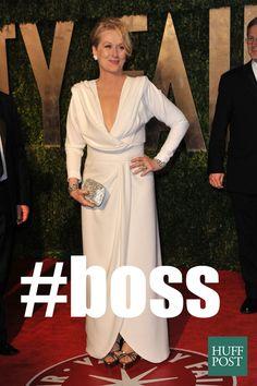 All hail Queen Meryl!
