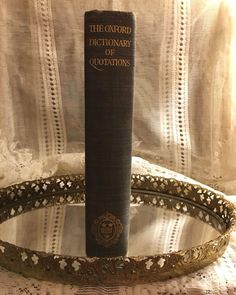 Rare First Edition 1941 Oxford Dictionary of Quotations OUP Erratum Slip Smyth, Doren, Johnson,