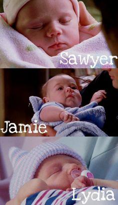 All the Scott Babies,Jamie,Sawyer,& Lydia