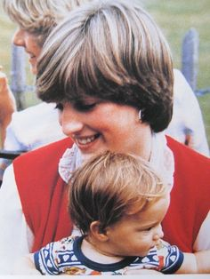 July 1980 Lady Diana Spencer at Cowdray Park, she was amongst the Princes House party