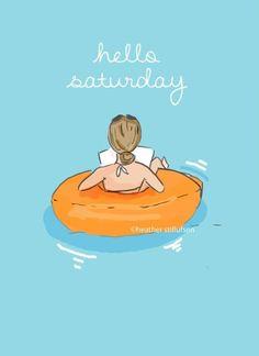 Rose Hill Designs by Heather Stillufsen Hello Saturday, Hello Weekend, Happy Saturday, Happy Weekend, Saturday Quotes, Weekend Quotes, Thursday, Sunday, Rose Hill Designs