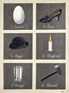The Interpretation of Dreams - Rene Magritte (1930)