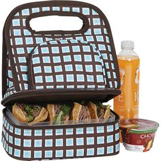 Picnic Plus Savoy Lunch - Blue Oyster - Lunch Bags featuring polyvore home kitchen & dining food storage containers blue lunch bag lunch carrier picnic plus lunch tote lunch sack