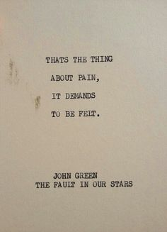 Watch! The Fault In Our Stars! Will change your course forever