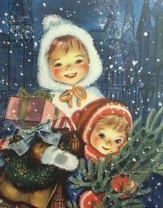 Christmas magic is most easily found reflected in the innocent faces of the children.