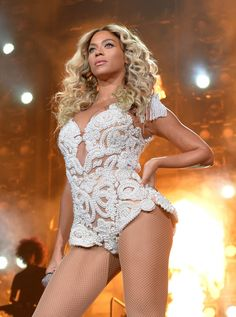 """Somebody """"Ring The Alarm""""because Beyoncémeans business during a performance on Dec. 3 in Los Angeles"""