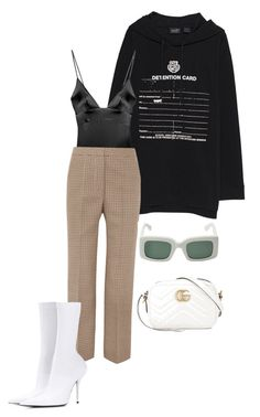 """""""#8"""" by jade-bbaluch ❤ liked on Polyvore featuring Puma, For Love & Lemons, STELLA McCARTNEY, Gucci and Balenciaga"""