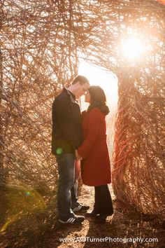 Beautiful engagement photo in Hermann Park - Houston wedding photography - MD Turner Photography