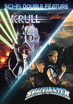 This sci-fi collection includes the movies KRULL and SPACEHUNTER: ADVENTURES IN THE FORBIDDEN ZONE.