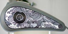 Custom Motorcycle Tanks | Motorcycle Tank Graphics - Moto Verso