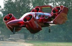 "Moller M 400 Skycar interesting. It is a 4 passenger skycar and cruises at 275 mph. Is a prototype personal VTOL aircraft – a ""flying car"" – invented by Paul Moller who has been attempting to develop such vehicles for fifty years. Wikipedia Top speed: 330 mph (531 km/h) Length: 19' 6"" (5.94 m)"