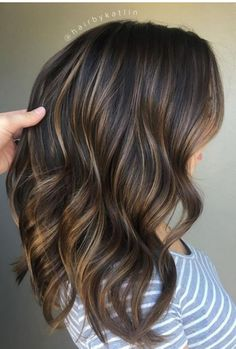 Brown Hair Color With Highlights | Cocoa hair color | Balayage Hair Colors #haircolor #brownhair #highlighthair #balayage