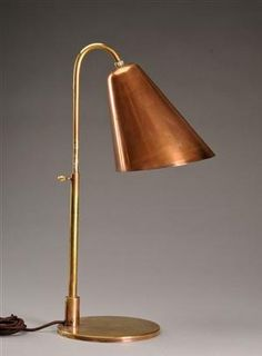 Antique Vintage Brass Table Lamp Antique Brass Lighting Retro Antique Old Table…