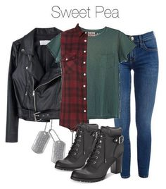 Sweet Pea from Riverdale outfit Tv Show Outfits, Fandom Outfits, Teen Fashion Outfits, Mode Outfits, Fall Outfits, Womens Clothing Stores, Clothes For Women, Clothes Sale, Women's Clothing