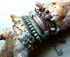 Visionary Bracelet/Necklace Wrap. $320.00, via Etsy.