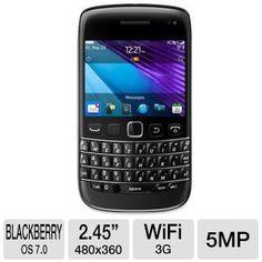 Tigerdirect BlackBerry Bold GSM Unlocked Cell Phone in Black $439.99 Blackberry Bold, Cell Phone Deals, Wifi