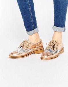 Zapatos Oxford de cuero MORAL de ASOS