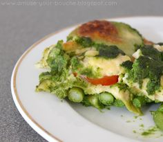 Asparagus and spinach lasagne - Amuse Your Bouche