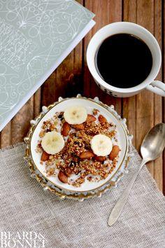 Ginger Quinoa Granola | KeepRecipes: Your Universal Recipe Box