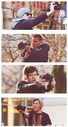Filming themselves for OWOA!! Once again should I even ask, where is Zayn??