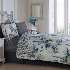 Avondale Manor 5-piece Cherie Quilt Set, Blue