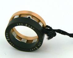 "The 1 ITALY Ring ""Eva Kant"" Diabolik  By Diego Massimo Made In Italy SZ 6.5 #EvaKantbyDiegoMassimo #Band"