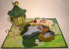 Fee Tea Garden Krabbeldecke Quilt Schnittmuster von thesilverpenny
