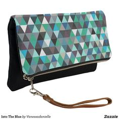 Into The Blue Clutch