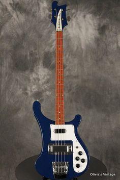 Rickenbacker 4001 S Bass 1982 Azureglo