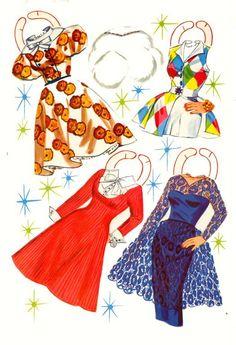 donna reed paper dolls | Donna Reed 1960 | Paper dolls | Pinterest