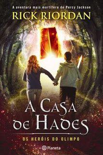 Livros Junior e Juvenil: Passatempo: A casa de Hades de Rick Riordan