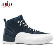 top fashion 6d127 3992c 130690-410 Air Jordan 12 Retro 2012 Obsidian University Blue White French  Blue A12006,