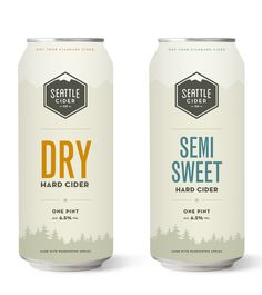 Seattle Cider Co. The dry is ok. Bubbly. Clean. But not much flavor. The semi sweet is a nice even amount of dry n sweet.