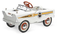 A 1960 Astronaut Car pedal car by Murray,  Approximately 35 ins. long