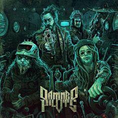 """Damned Pilots - Uscito il nuovo album Overgalaxy!  I Damned Pilots, hanno pubblicato il loro nuovo cd """"Overgalaxy"""" via Sliptrick Records lo scorso 15 dicembre, 2016."""