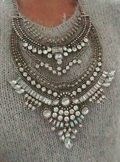 Glamorous Over The Top Statement #Necklace 24,90 € #happinessbtq
