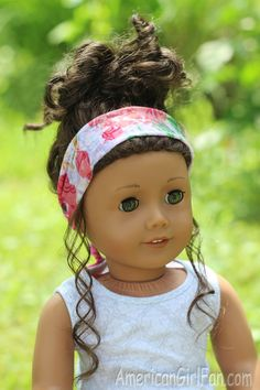 Head Scarf For American Girl Doll