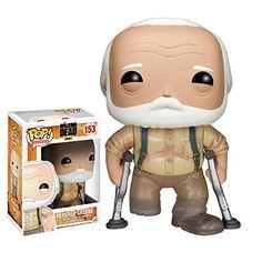 Funko - Bobugt125 - Figurine Cinéma - The Walking Dead - Bobble Head Pop 153 Hershel Greene !