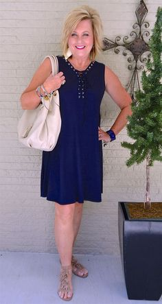 50 IS NOT OLD | GROMMETS ON A DRESS Dressing Over 50, 50 Is Not Old, Clothes For Women Over 50, What Should I Wear, Stitch Fix, Spring Fashion, Personal Style, Summer Outfits, Elsa