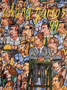 Roland Garros Art Print